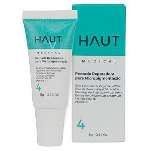 Pomada Reparadora para Micropigmentação Haut Medical Passo 4 - 8 gr