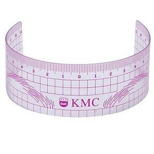 Régua Simétrica KMC para Sobrancelhas