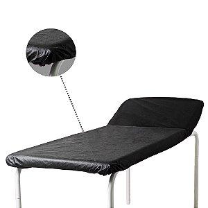 Lençol Descartável TNT Black Elástico c/10 unid. 30G/m²