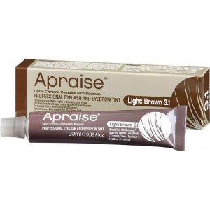 Tintura para Cílios e Sobrancelhas Light Brown 3.1 Apraise 20ml