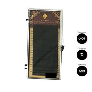 Cílios para Alongamento Iconsign 0.07 D 8 a 15mm