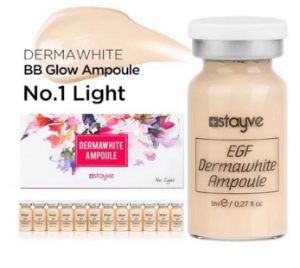 Ampola BB Glow Dermawhite Stayve Nº1 Light
