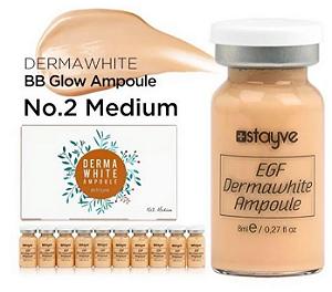Ampola BB Glow Dermawhite Stayve Nº2 Medium
