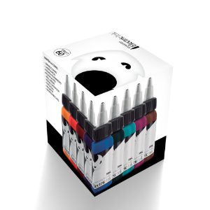 Kit Basico Tintas Tatuagem Electric Ink 9 Cores de 30ml