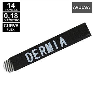 Lâmina Flex Dermia 14U pontas 0,18mm Nano