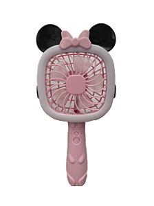 Ventilador Recarregável Minnie Rosa