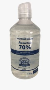 Álcool Gel 70% 440g Chams