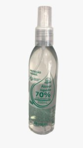 Álcool Líquido 70% 200g Chams