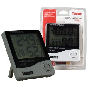 Termo Higrômetro Medidor de Temperatura Digital Tomate PD-003