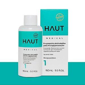 Preparatório Antisséptico Haut Medical Micropigmentação Passo 1 - 150ml