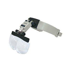 Lupa de Cabeça SLC-1010 LED Solver