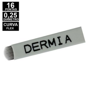 Lâmina Flex Dermia 16U pontas 0,25mm