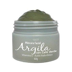 Máscara Facial Argila com Café Verde 60g
