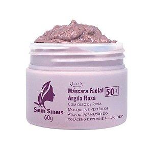 Máscara Facial Argila Roxa 50+ 60g