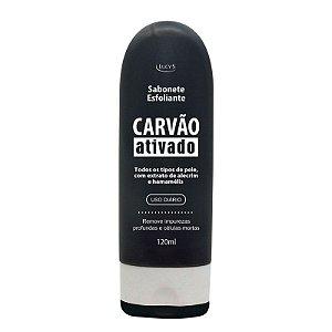 Sabonete Esfoliante Carvão Ativado 120ml
