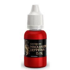 Pigmento Electric Ink Lábios Vermelho Vivo 15ml