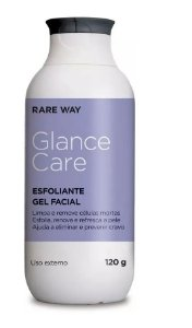 Esfoliante Gel Facial Glance Care Rare Way 120g