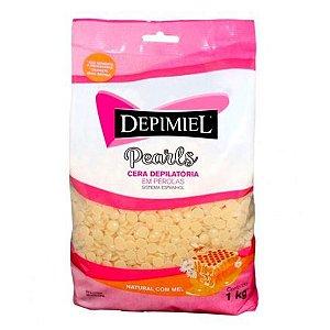 Cera Depilatória Natural com Mel Depimiel 1kg
