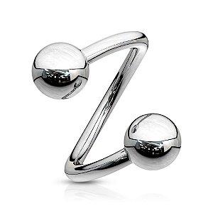 Piercing Spiral Twister 1.2 Aço
