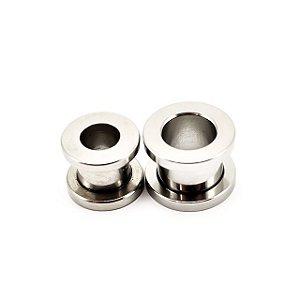 Piercing Alargador Rosca Aço 316