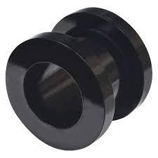 Piercing Alargador Rosca Aço Black