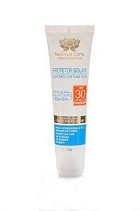 Protetor Solar 30 FPS Hidratante Toque Seco Nativus Care 60gr