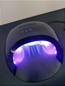 Cabine LED / UV Led Nail Lamp 24W Bivolt Wireless Li-ion Battery