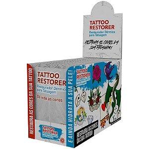 Saches Tattoo Restorer Restaurador Dérmico para Tatuagem 10gr - 24 unid.
