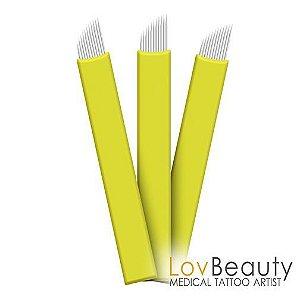 Lâmina Flex Lov Beauty Nano Blade 12 Pontas 0,18mm