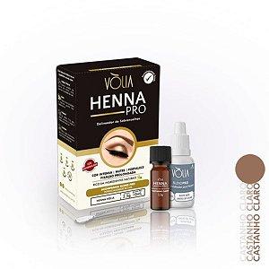 Henna Pro Vòlia Castanho Claro 2,5gr