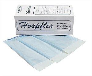 Envelopes Auto Selante para Esterilização 07X13cm 100 unid Hospflex