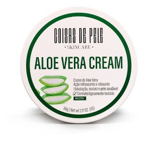 Creme Facial Aloe Vera Cream 60gr