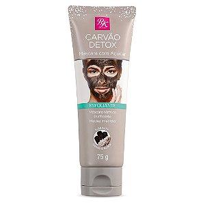 Esfoliante Carvão Detox Máscara com Açúcar Rk by Kiss 75gr