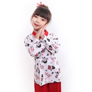 Pijama Infantil Kokeshi