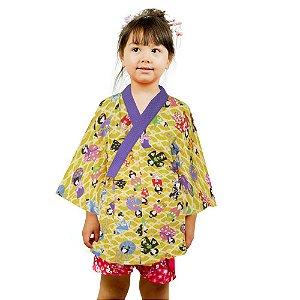 Kimono Infantil Gueixa