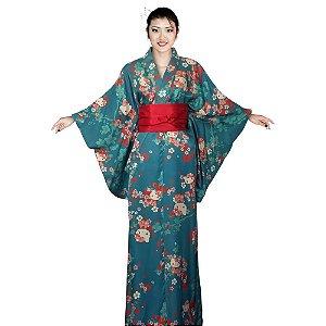 Kimono Azul Hello Kitty '19