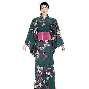 Kimono Verde Hello Kitty '18