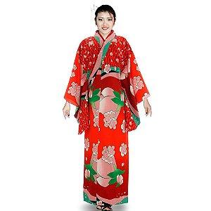 Kimono Algodão Tulipa/ Sakura