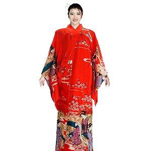 Kimono Yumi Vermelho