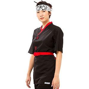 Uniforme Feminino - Conjunto Camisa + Avental