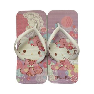 Chinelo Hello Kitty Lilás