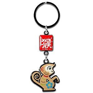 Chaveiro Macaco - Horóscopo Chinês