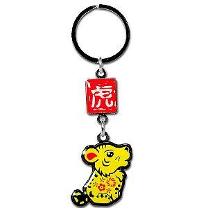 Chaveiro Tigre - Horóscopo Chinês