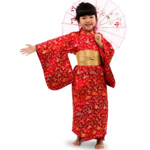 Kimono Infantil Brocado