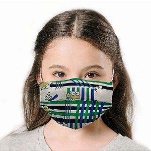 Máscara Infantil Keroppi