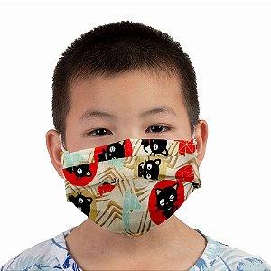 Máscara Infantil Chococat
