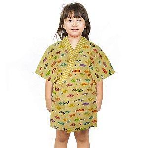 Kimono Infantil Leque