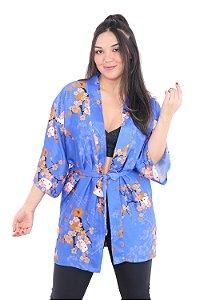 Kimono Robe Azul-Anil Hello Kitty '20