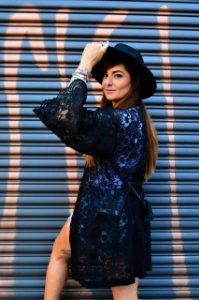 Kimono Robe Renda Preto