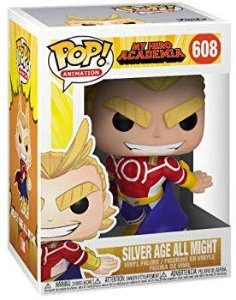POP Funko - All Might Silver Age #608
